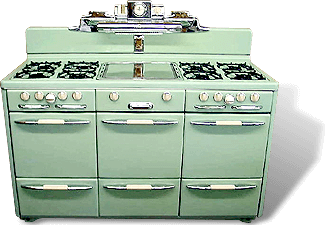 old antique oven repair